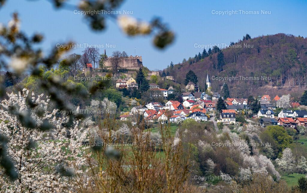 DSC_2157 | Lindenfels, die Perle des Odenwaldes aus der Südwestlichen Richtung fotografiert aus dem Schlierbacher Tal ,, Bild: Thomas Neu