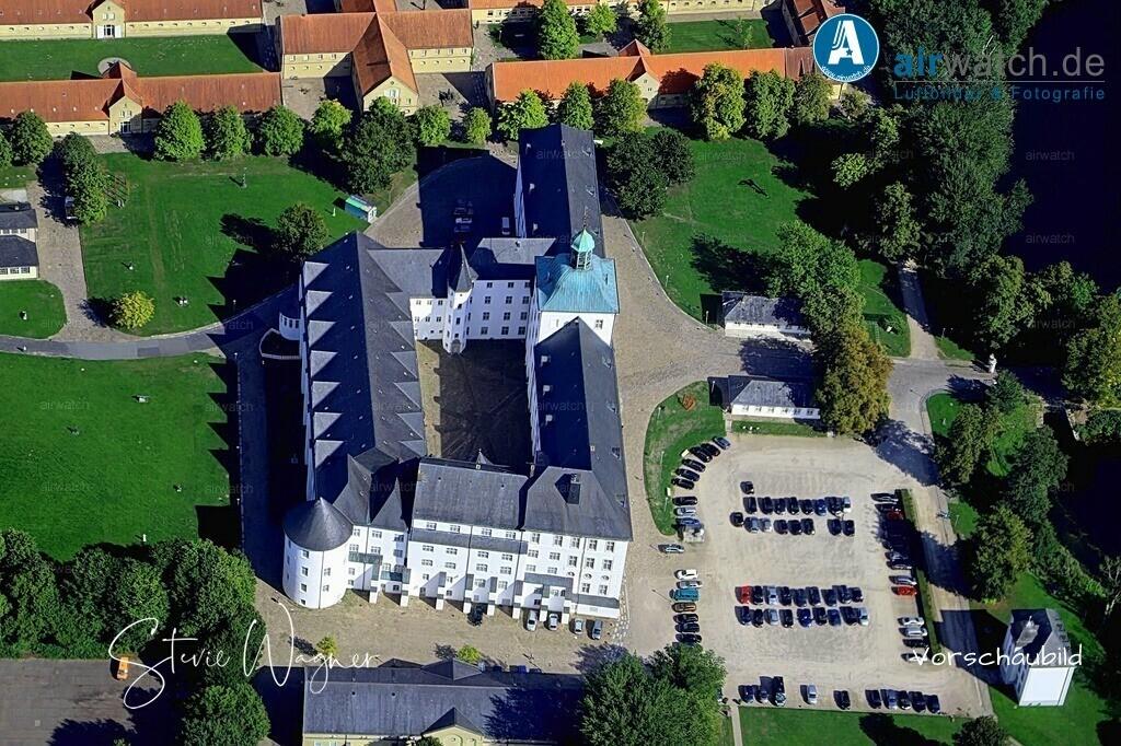 Luftbild Schleswig, Schlei, Schloss Gottorf, Burgsee | Luftbild Schleswig, Schlei, Schloss Gottorf, Burgsee • max. 6240 x 4160 pix