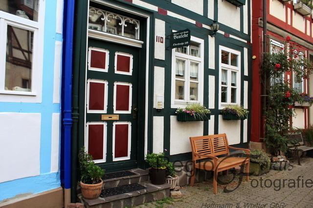 Fachwerk-Ansichten | Fachwerkfassaden in der Altstadt von Bad Salzdetfurth