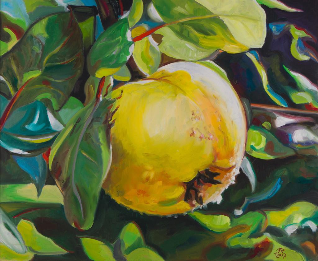 Die Apfelquitte | Originalformat: 50x60cm  -  Produktionsjahr: 2007
