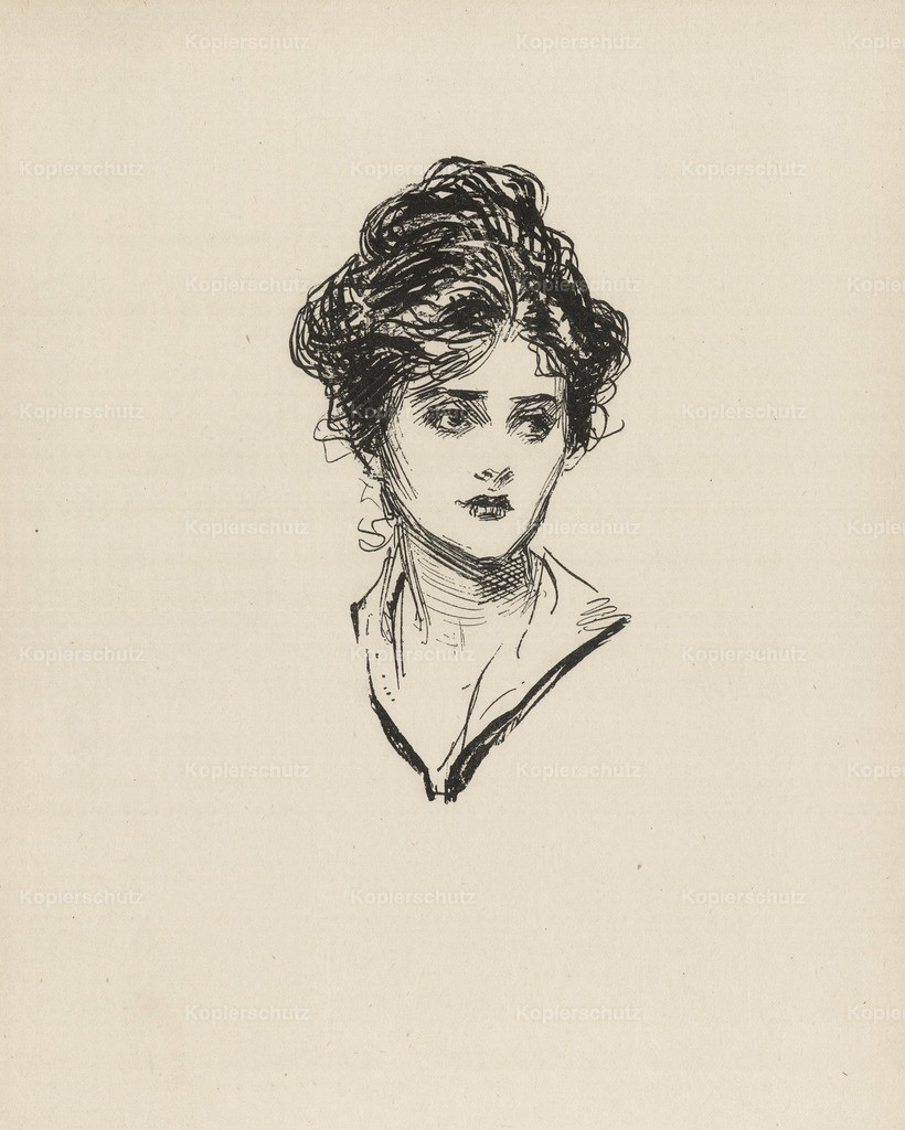 Gibson_ Charles Dana (1867-1944) - Gibson New Cartoons 1916 - Girl 1