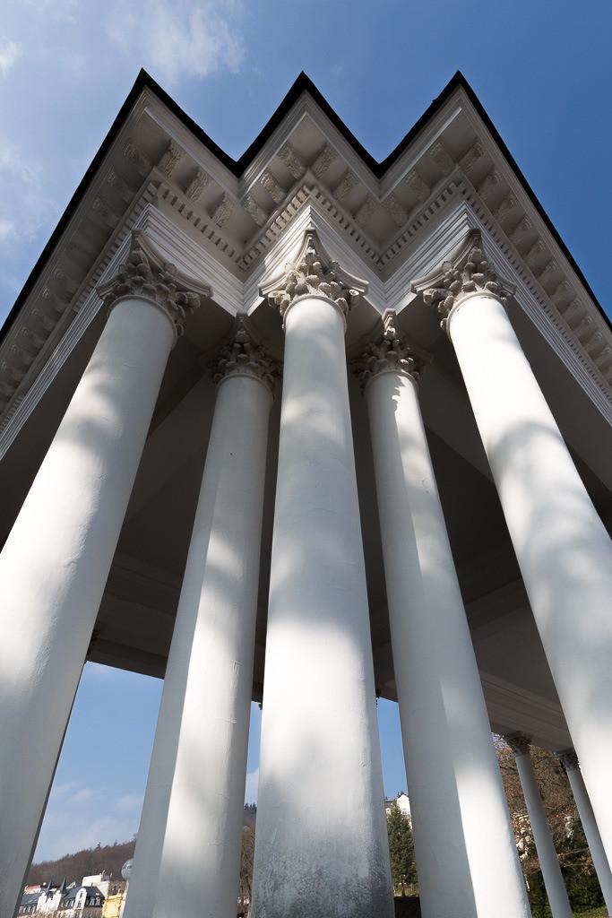 Säulen in Marienbad