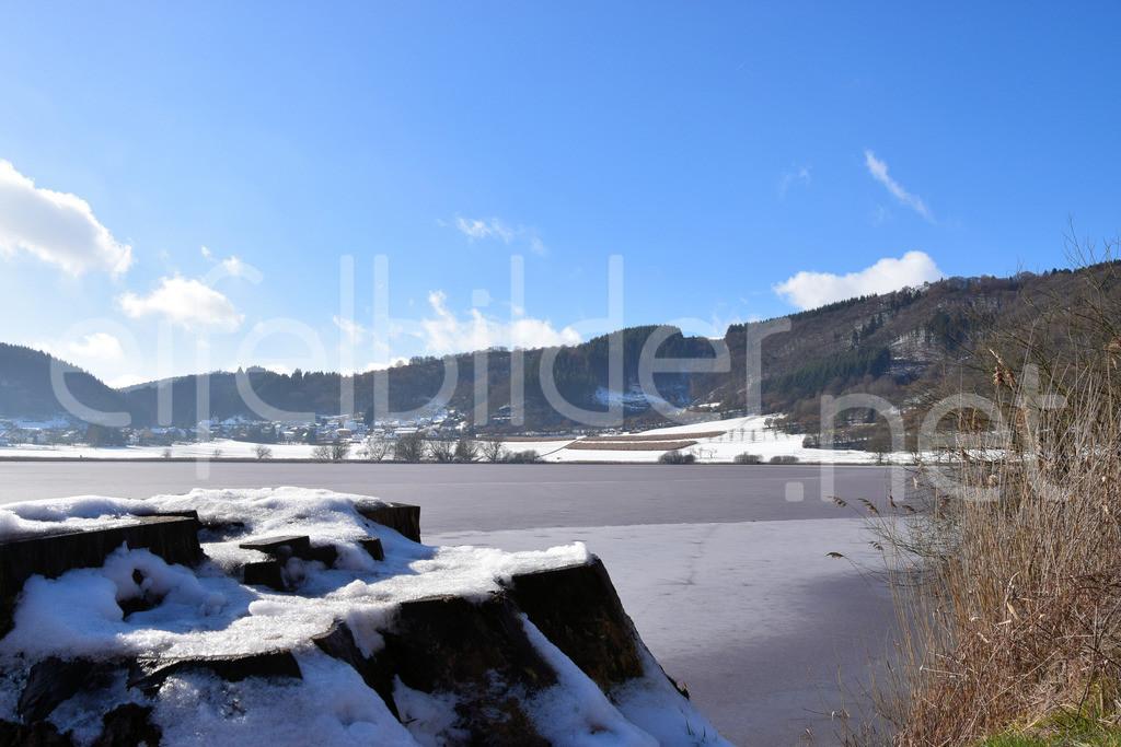 Winter am Meerfelder Maar  | Eis und Schnee in der Vulkaneifel