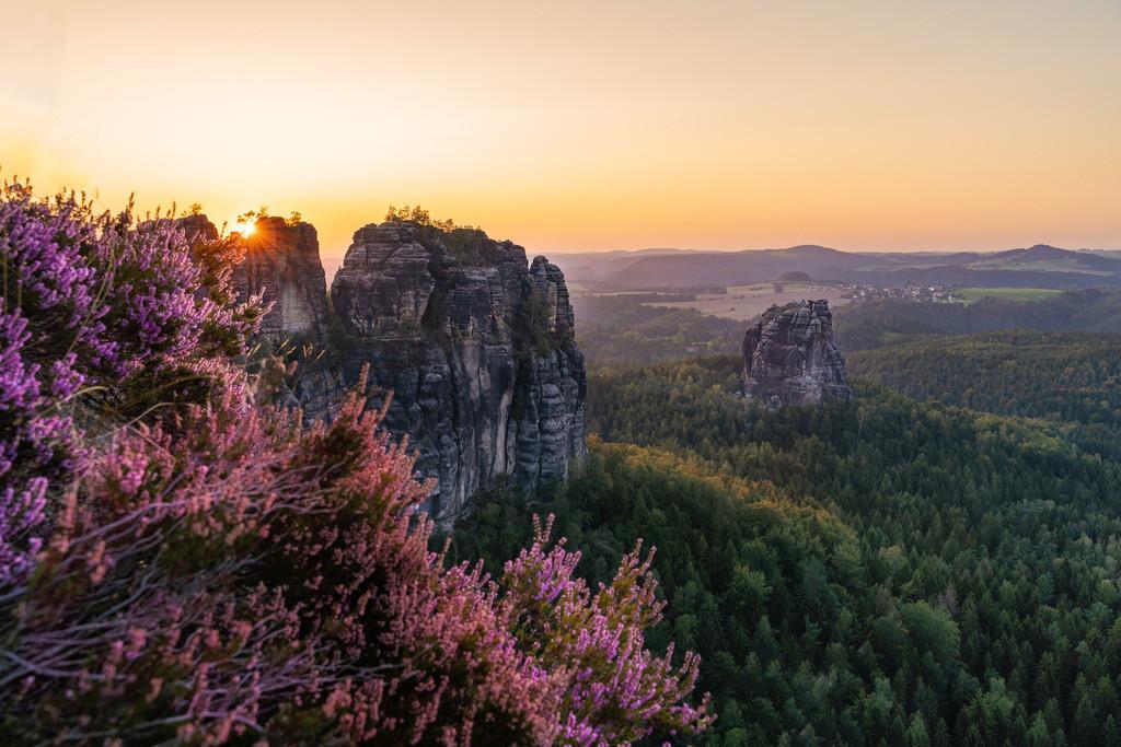 Elbsandstein Sunset 2