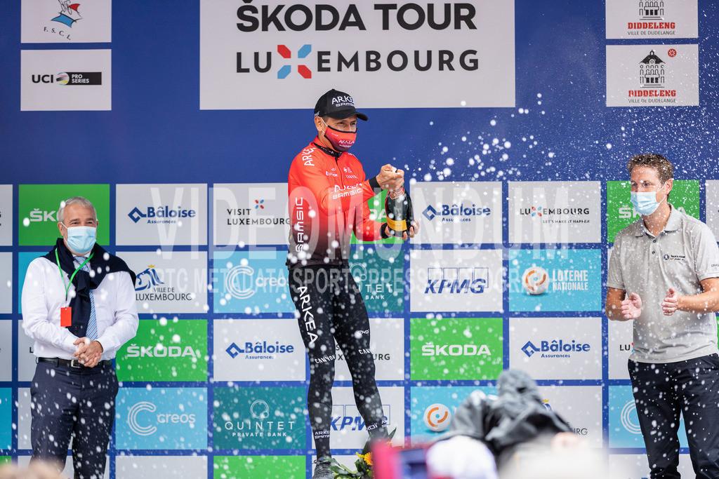 81st Skoda-Tour de Luxembourg 2021 | 81st Skoda-Tour de Luxembourg 2021, Stage 4 ITT Dudelange - Dudelange; Dudelange, 17.09.2021: QUINTANA Nairo (Team Arkéa Samsic, 161), honored as friendliest rider