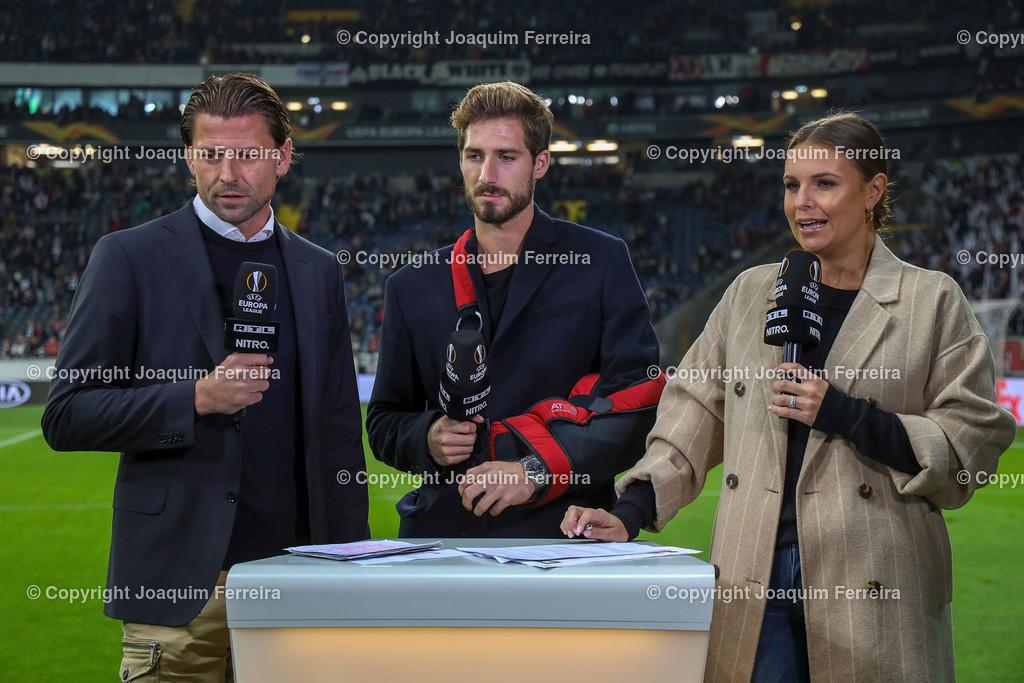 191024_sgevslie_5005   24.10.2019 Gruppenspiel Gruppe F UEFA Europa League Saison 2019/20 Eintracht Frankfurt - Standard Liege  emspor, emonline, despor, v.l.,   Foto: Joaquim Ferreira (DFL/DFB REGULATIONS PROHIBIT ANY USE OF PHOTOGRAPHS as IMAGE SEQUENCES and/or QUASI-VIDEO)