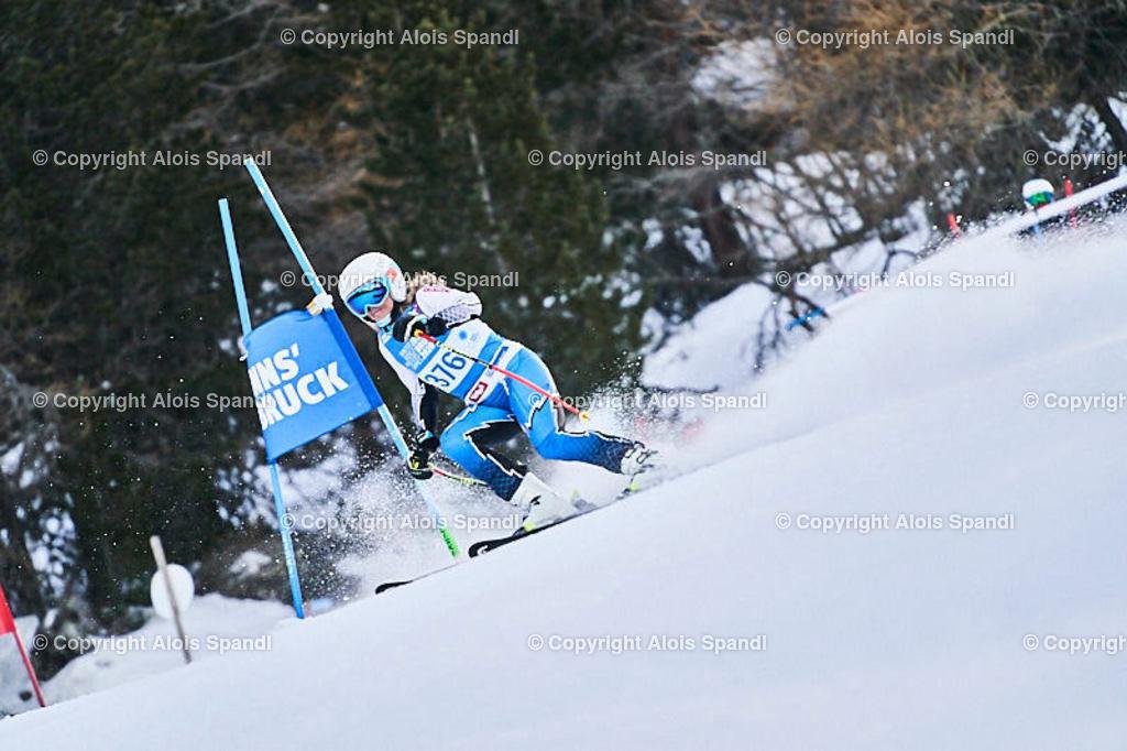 ALS5551_WWMG_GS-II_C | (C) FotoLois.com, Alois Spandl, WinterWorldMastersGames 2020 Innsbruck, Giant Slalom-II Gruppe C Damen, Patscherkofel Olympiaabfahrt, Mi 15. Jänner 2020.