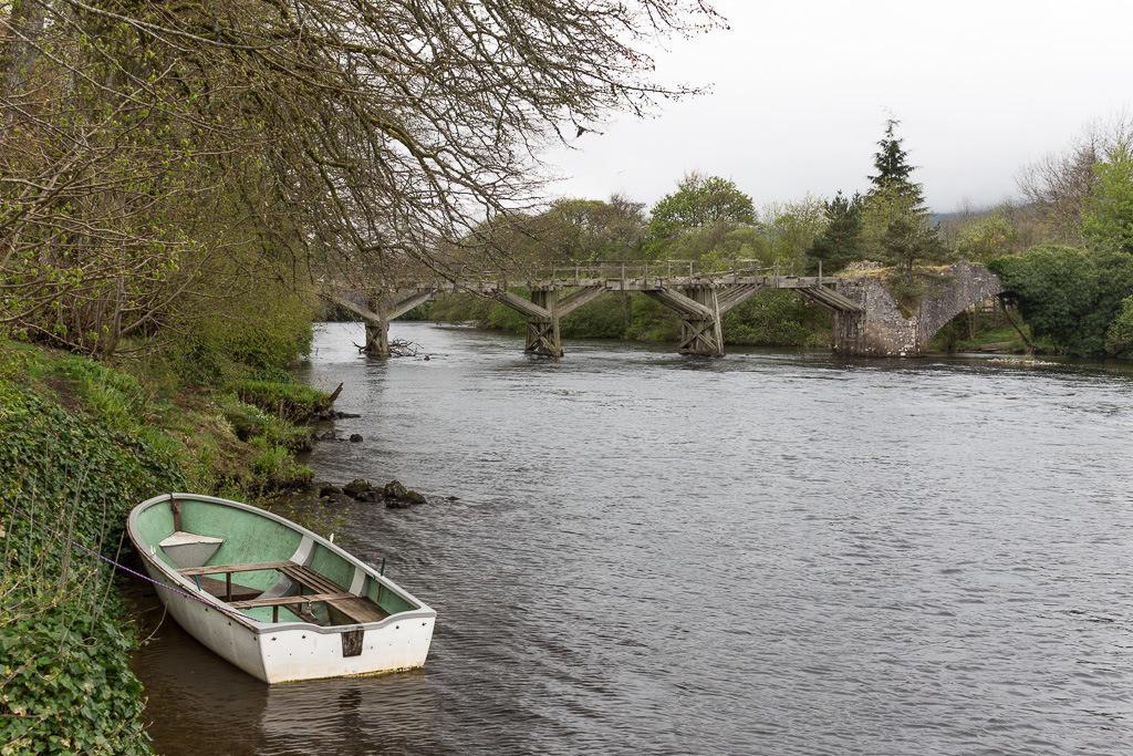 Zerfallene Brücke