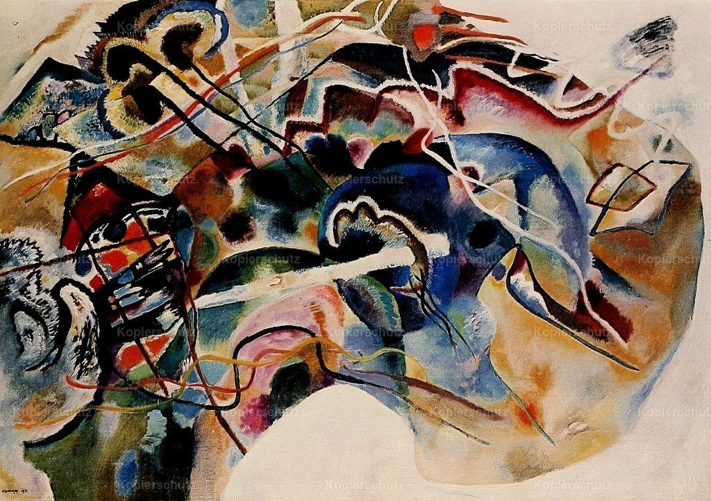 Kandinsky_ Wassily (1866-1944) - Painting with White Border 1913