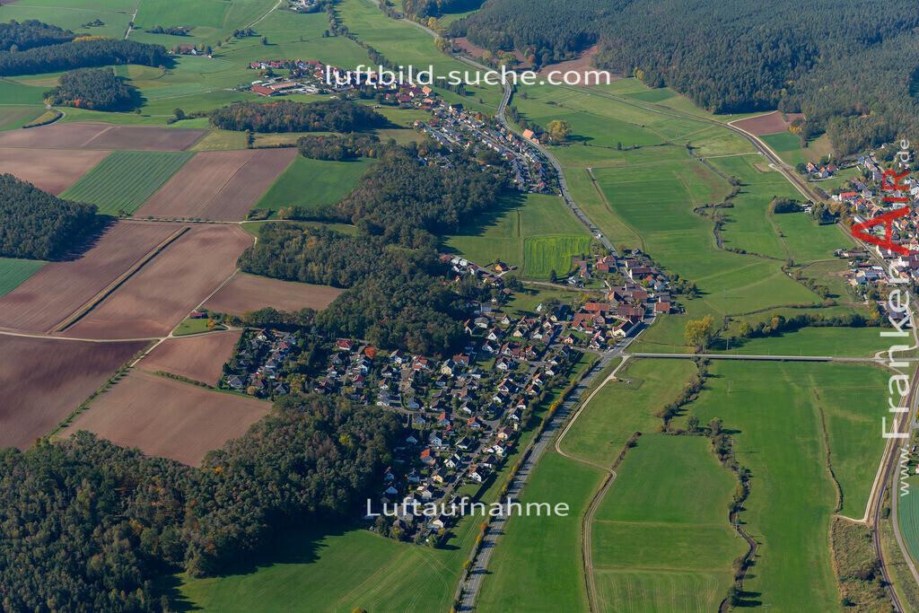 lohe-19-855 | aktuelles Luftbild von  Lohe - Luftaufnahme wurde 2019 von https://frankenair.de mittels Flugzeug (keine Drohne) erstellt.
