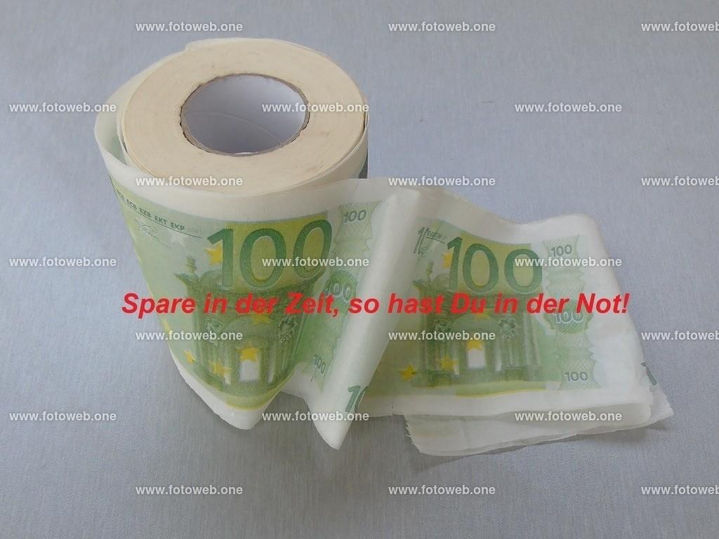 Spare in der Zeit_ so hast Du in der Not_ | In Zeiten von virus angesteckt zu werden, kann für manche ein Problem werden, wenn der Toiletten-drang die Reserven aufbraucht.