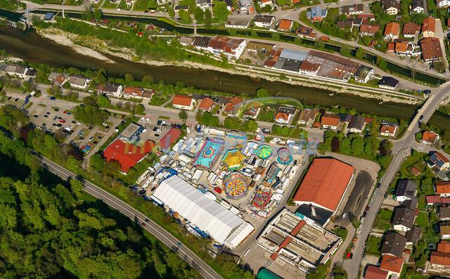 luftbild-traunstein-fruehligsfest-bruno-kapeller-45 | Luftaufnahme vom Traunsteiner Fruehlingsfest 2019