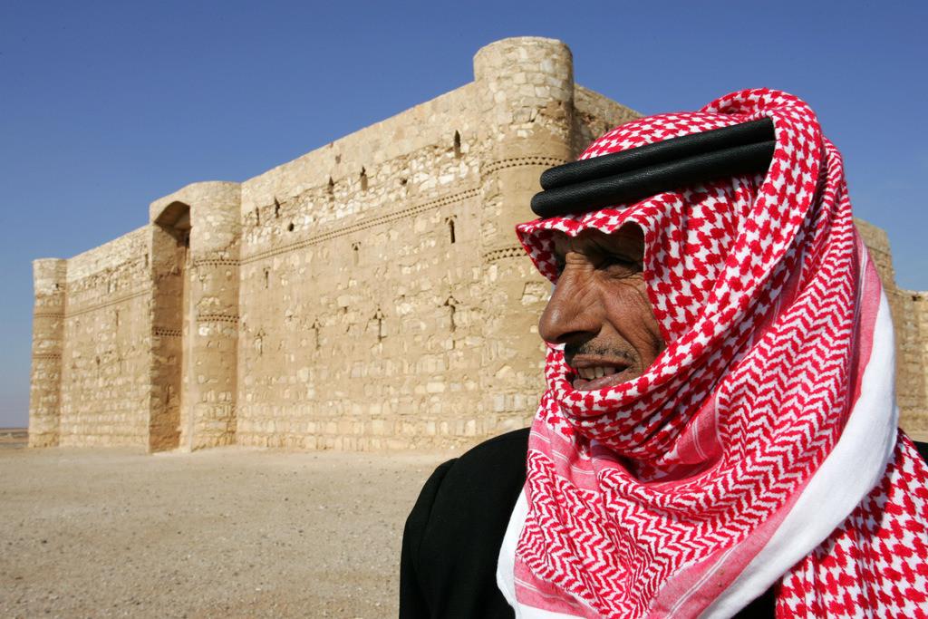 Jordanien | Jordanien, Wüstenfestung,