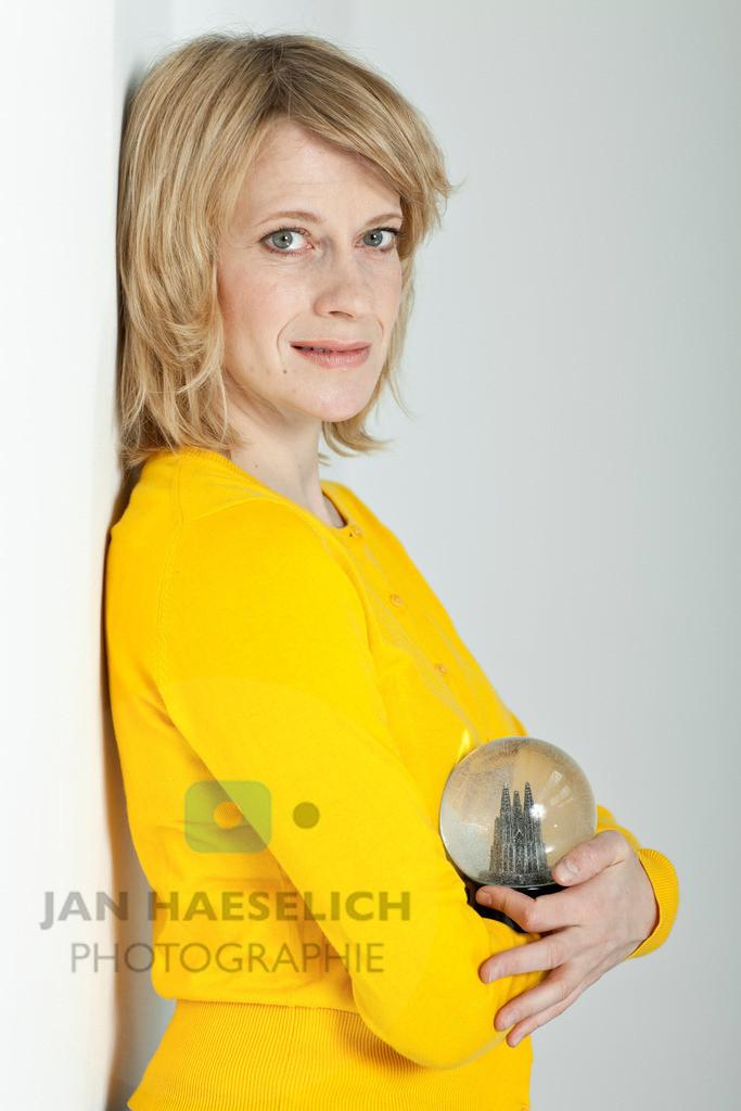 Caroline Peters   Fototermin in Hamburg am 31.03.2010 zur ARD Fernsehserie