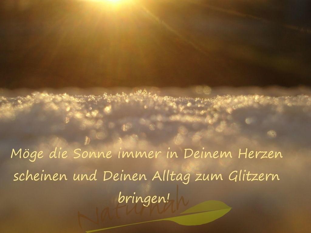 Sonne im Herzen | Gute Wünsche für jemand, den Du magst.