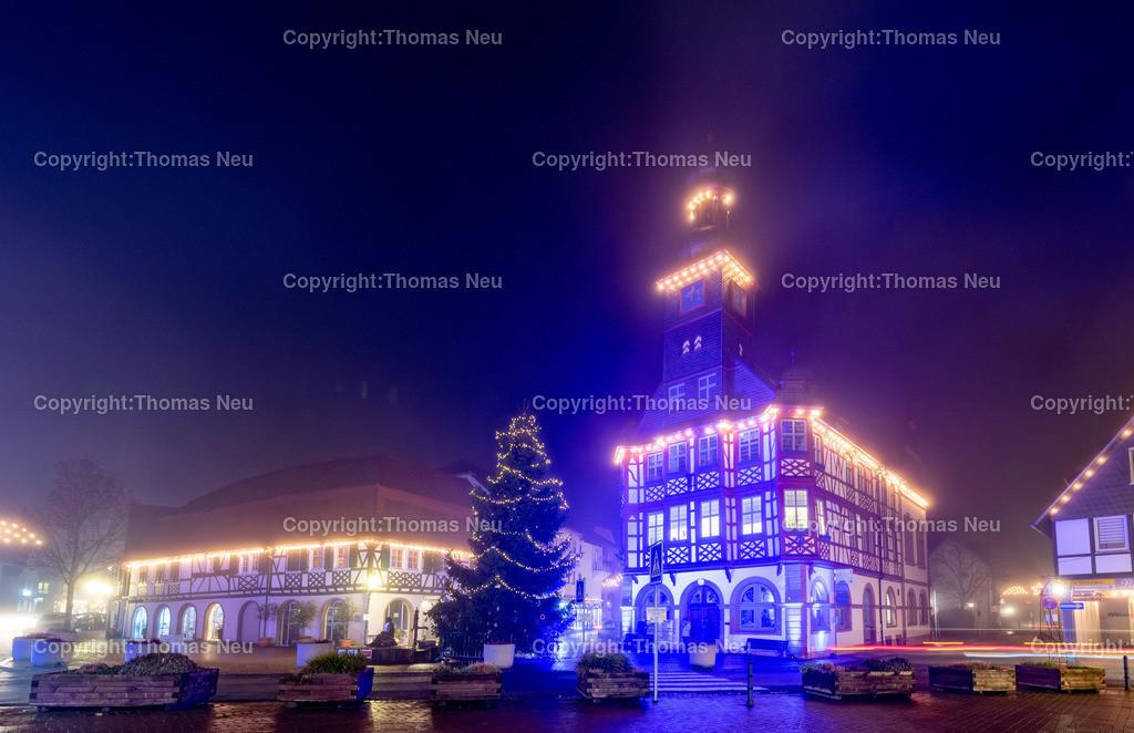 DSC_4033 | ble,Lorsch, blaues Weihnachtswunder, Innenstadt, ,, Bild: Thomas Neu