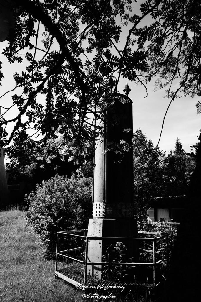 Sendeturm auf dem Donnersberg | Der SWR-Sendeturm auf dem Donnersberg in Schwarzweiss