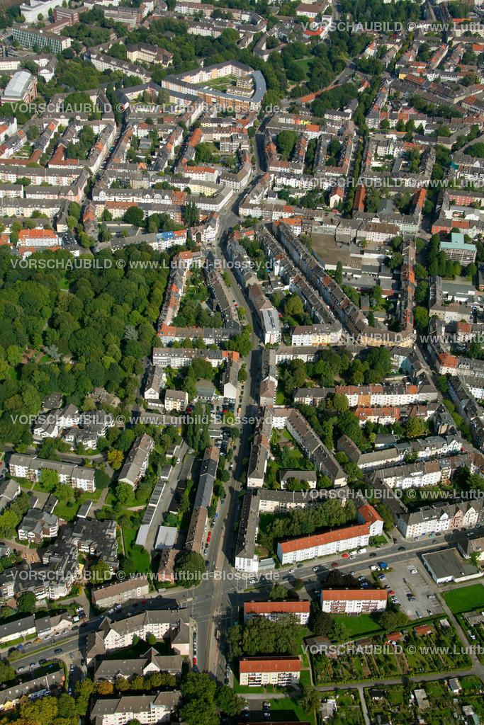 ES10094249 | Frohnhauseer Strasse, Luftbild,  Essen, Ruhrgebiet, Nordrhein-Westfalen, Germany, Europa, Foto: hans@blossey.eu, 05.09.2010