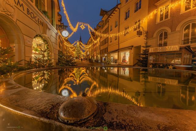 Merry Christmas | Weihnachtliche Stimmung in der Altstadt von Bremgarten AG