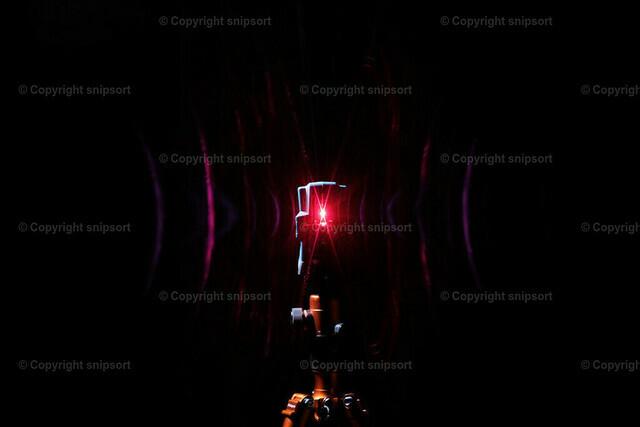 Laserlicht | Laserlicht als Gegenlicht im Dunkeln.