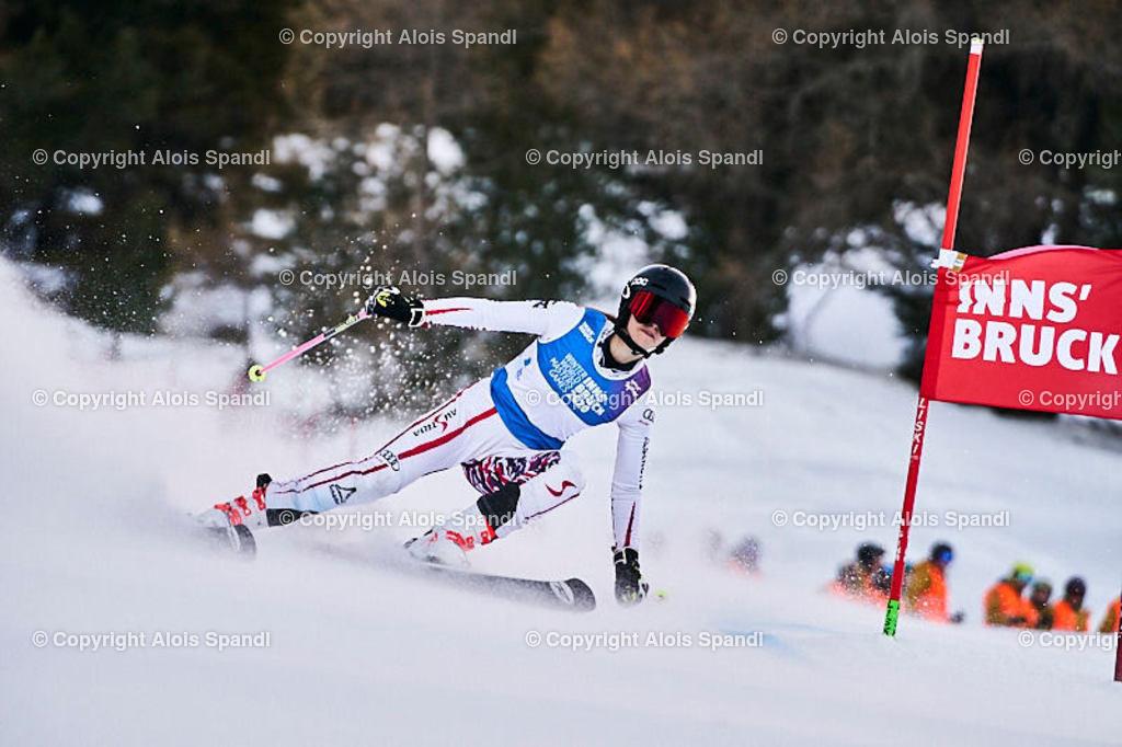 ALS5406_WWMG_GS-II_C | (C) FotoLois.com, Alois Spandl, WinterWorldMastersGames 2020 Innsbruck, Giant Slalom-II Gruppe C Damen, Patscherkofel Olympiaabfahrt, Mi 15. Jänner 2020.