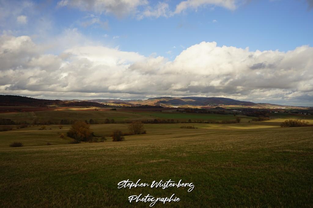 Der Donnersberg | Der Donnersberg im herbstlichen Gewandt
