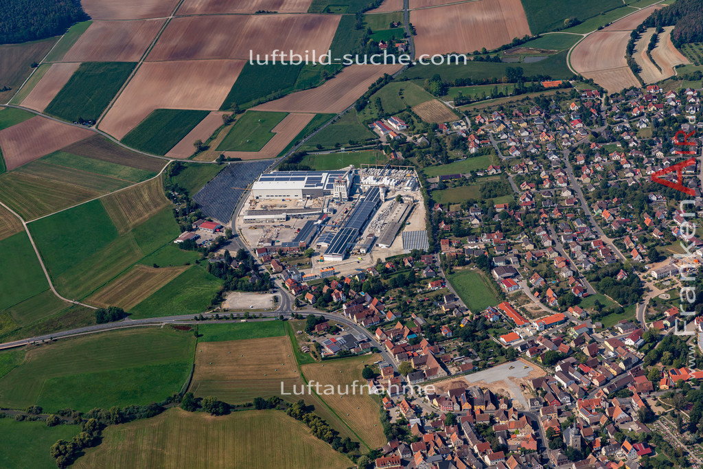 uehlfeld-19-569 | aktuelles Luftbild von Uehlfeld   - Luftaufnahme wurde 2019 von https://frankenair.de mittels Flugzeug (keine Drohne) erstellt.