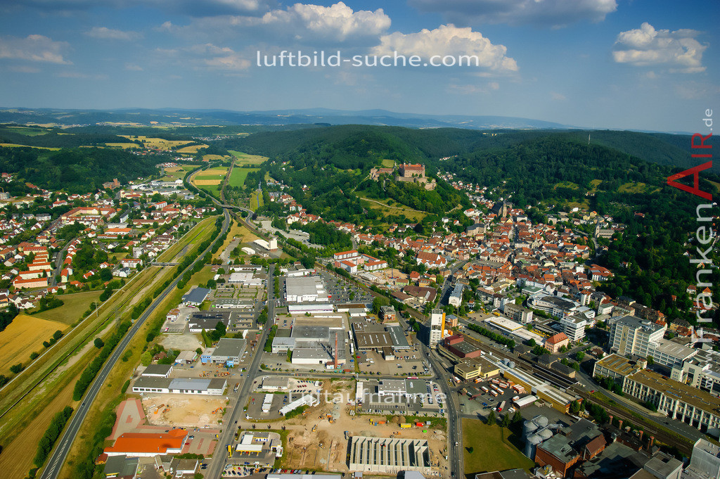 luftaufnahme-kulmbach-2008-533 | Luftbild von  Kulmbach - Luftaufnahme wurde 2008 von https://frankenair.de mittels Flugzeug (keine Drohne) erstellt - die Geschenkidee