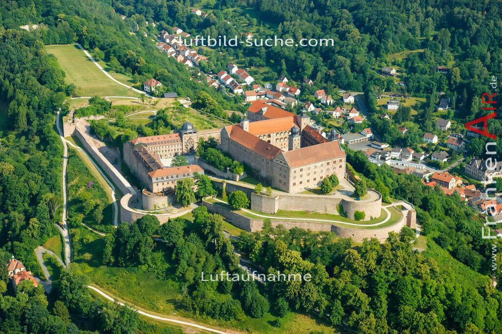 plassenburg-kulmbach-2008-02 | Luftbild von Plassenburg Kulmbach - Luftaufnahme wurde 2008 von https://frankenair.de mittels Flugzeug (keine Drohne) erstellt - die Geschenkidee