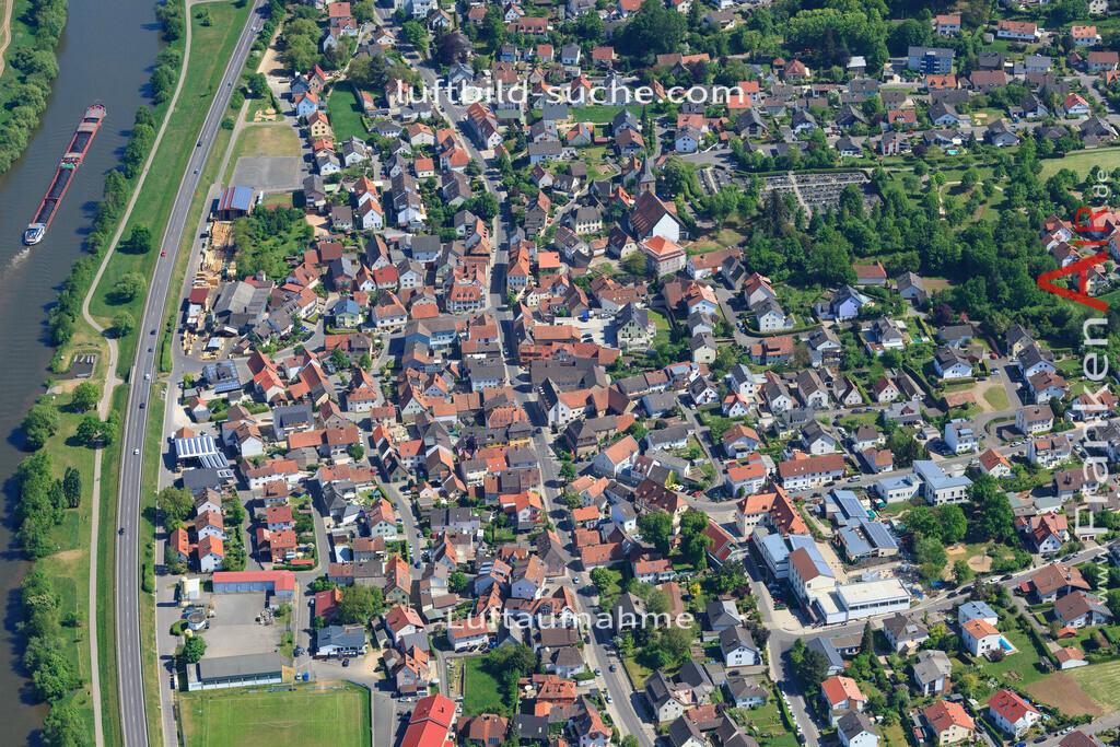 bischberg-18-332   aktuelles Luftbild von  Bischberg - Luftaufnahme wurde 2018 von https://frankenair.de mittels Flugzeug (keine Drohne) erstellt.