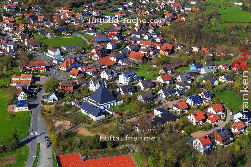 burghaig-kulmbach-2016-2041 | Luftbild von Burghaig Kulmbach - Luftaufnahme wurde 2016 von https://frankenair.de mittels Flugzeug (keine Drohne) erstellt - die Geschenkidee