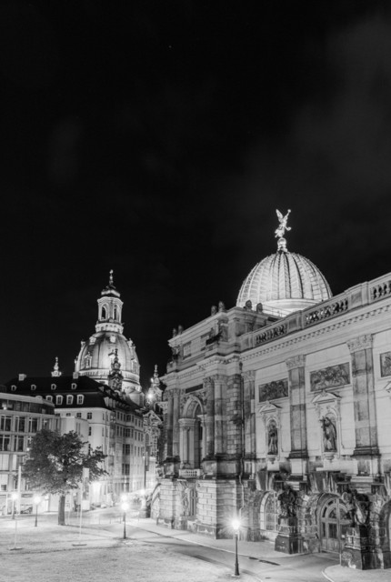 Dresden schwarz-weiss