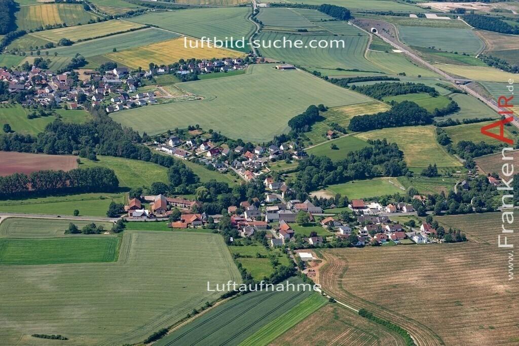 obersiemau-19-379 | aktuelles Luftbild von Obersiemau  - Luftaufnahme wurde 2019 von https://frankenair.de mittels Flugzeug (keine Drohne) erstellt.