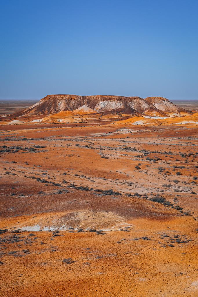 Breakaways Berg Formation | Breakaways Berg Formation bei Coober Pedy Australien