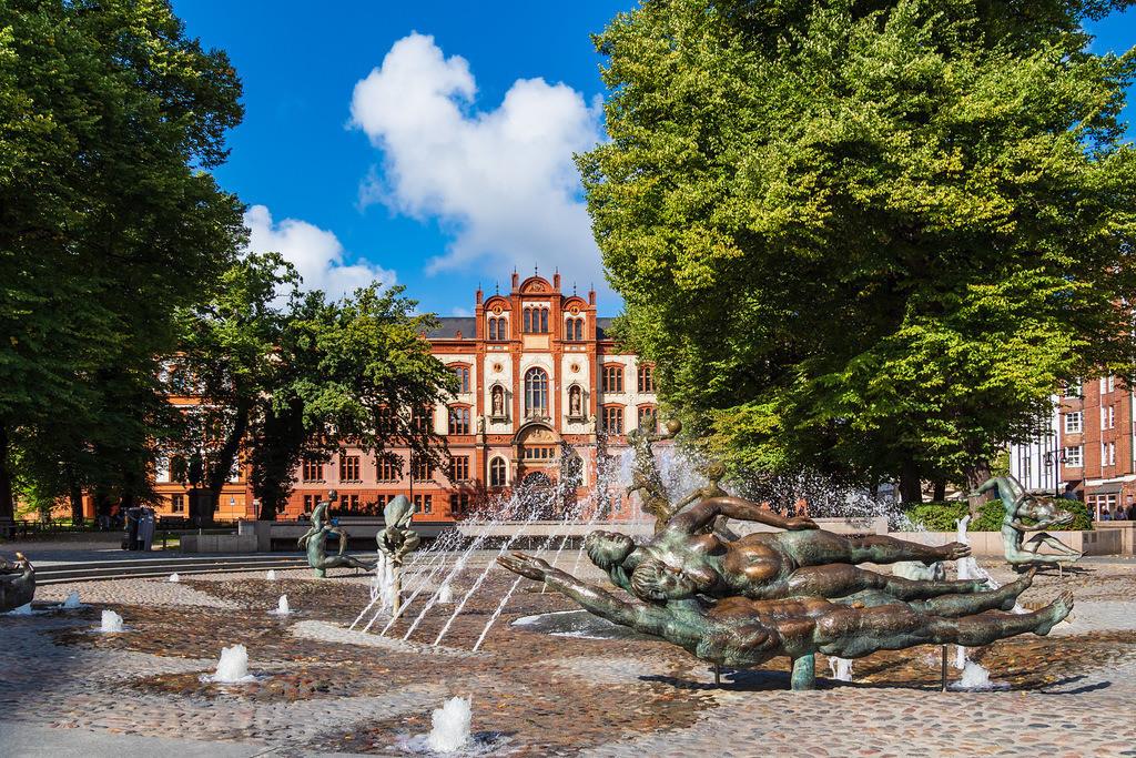 Blick auf die Universität in Rostock | Blick auf die Universität in Rostock.