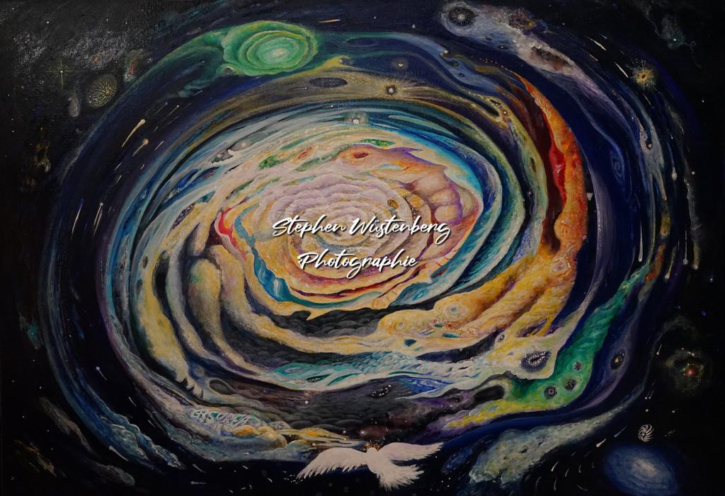 Gingel-0039 Sternengeburt | Roland Gingel Artwork @ Gravity Boulderhalle, Bad Kreuznach