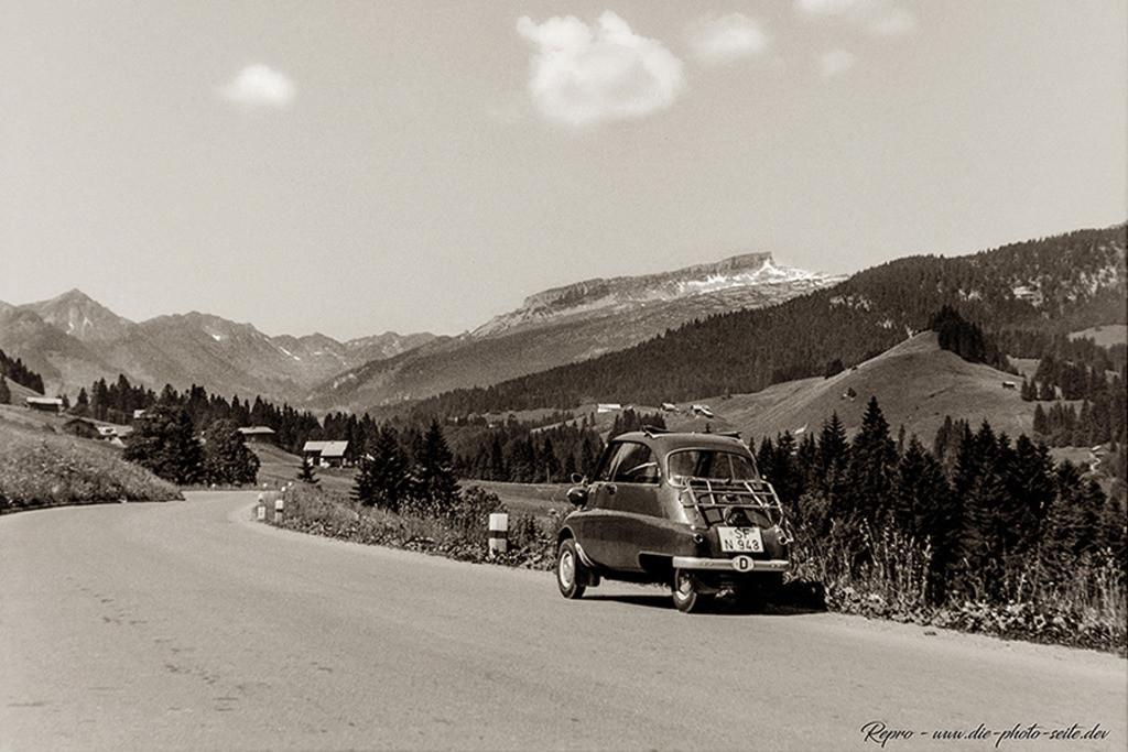 Isetta II | Isetta im Kleinwalsertal mit Blick auf den Ifen