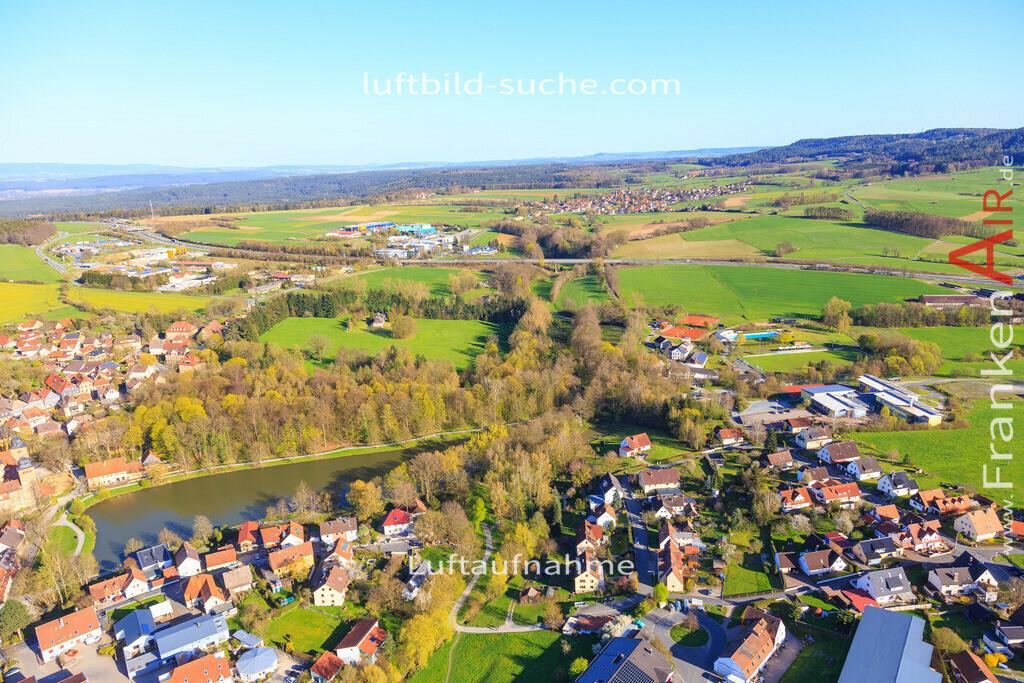 thurnau-2016-3268   Luftbild von  Thurnau - Luftaufnahme wurde 2016 von https://frankenair.de mittels Flugzeug (keine Drohne) erstellt - die Geschenkidee