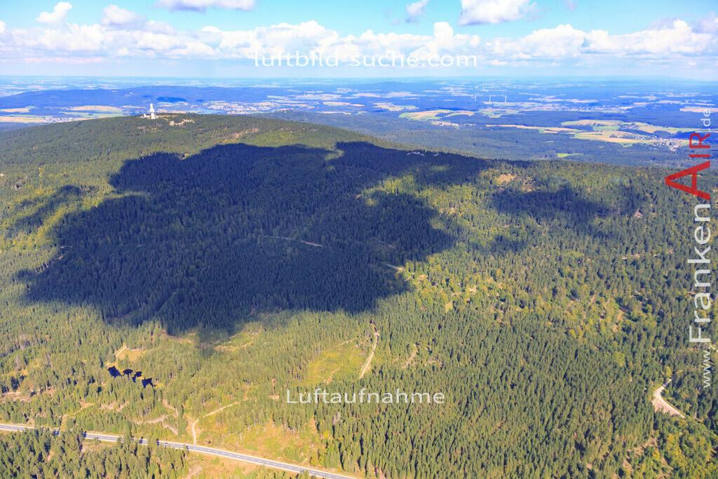 schneeberg-17-5387 | Luftbild von Schneeberg  - Luftaufnahme wurde 2017 von https://frankenair.de mittels Flugzeug (keine Drohne) erstellt - die Geschenkidee