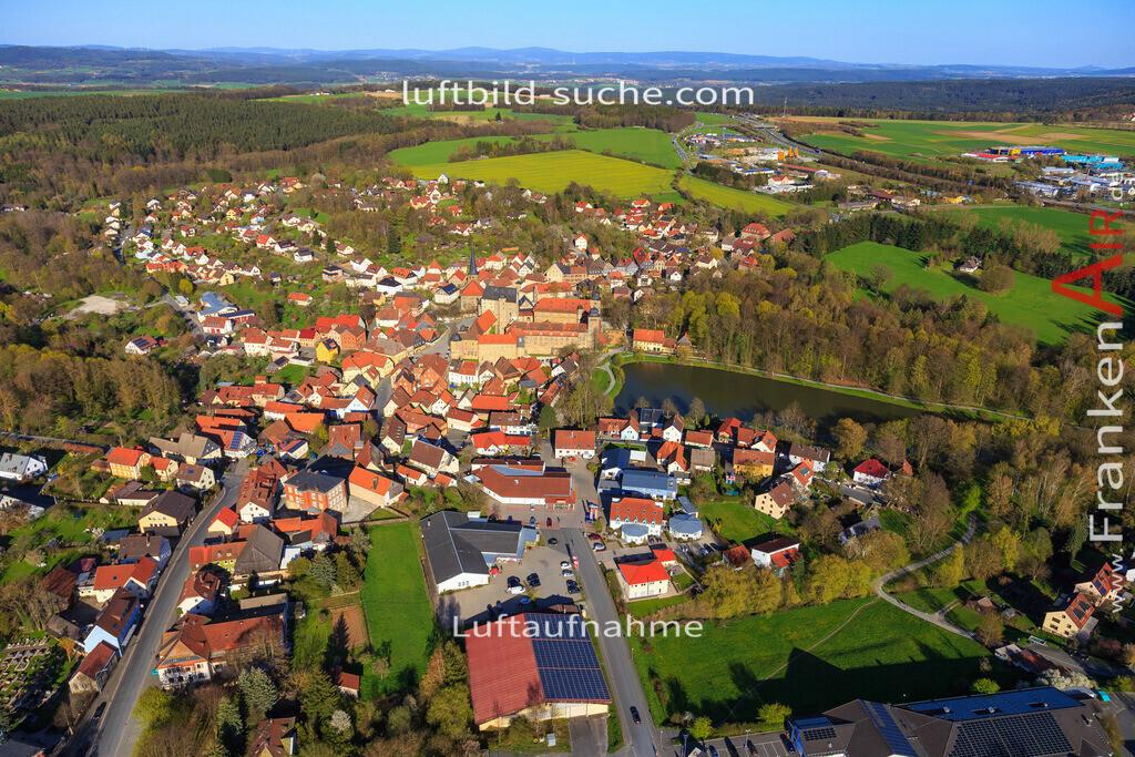 thurnau-2016-3266 | Luftbild von  Thurnau - Luftaufnahme wurde 2016 von https://frankenair.de mittels Flugzeug (keine Drohne) erstellt - die Geschenkidee