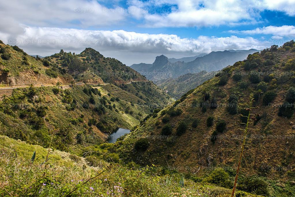 La Gomera 2019   Landschaftsaufnahme von La Gomera