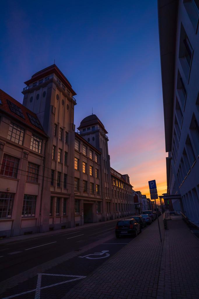 Morgenstimmung an der Nikolaus-Dürkop-Straße | Morgenstimmung an der Nikolaus-Dürkop-Straße in Bielefeld.