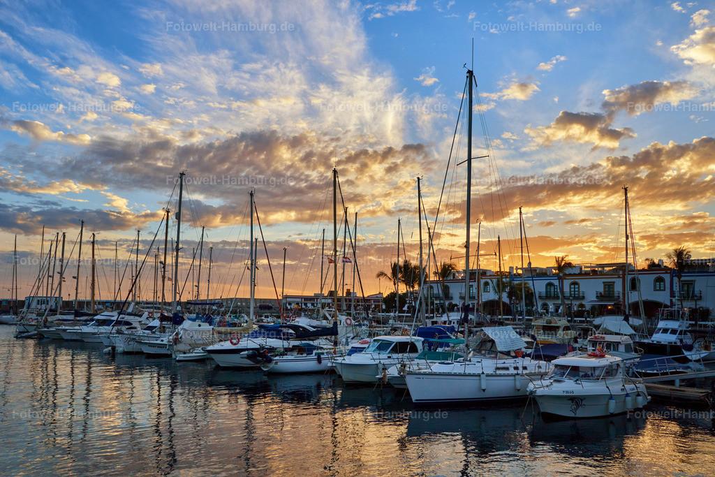 Puerto de Mogán Sunset | wunderschöne Lichtstimmung im Jachhafen von Puerto de Mogán