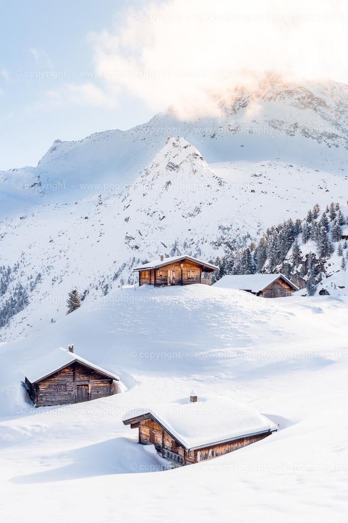Sommerbergalm im Winter-1