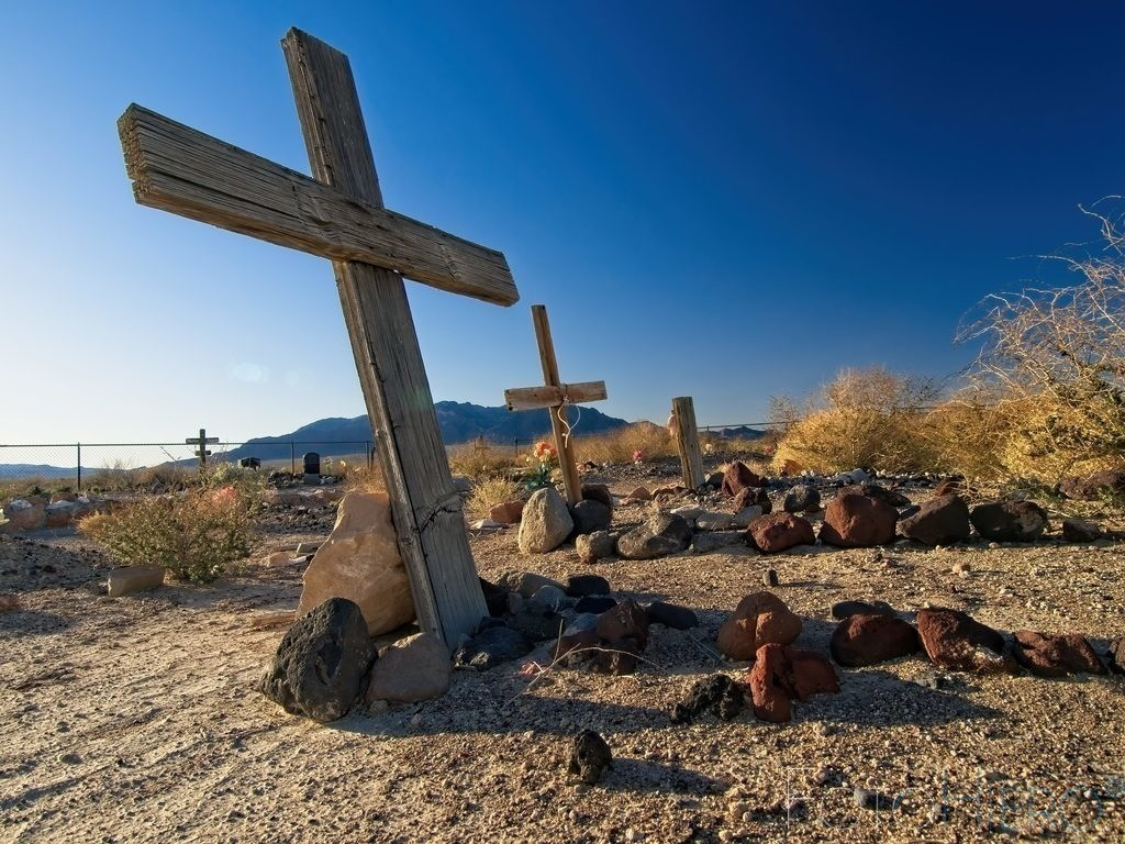 Death Valley Junction | Friedhof von Death Valley Junction, Calofornia, USA