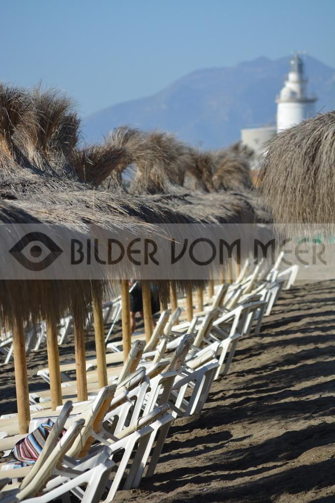 Strand Bilder | Leuchtturm von Malaga