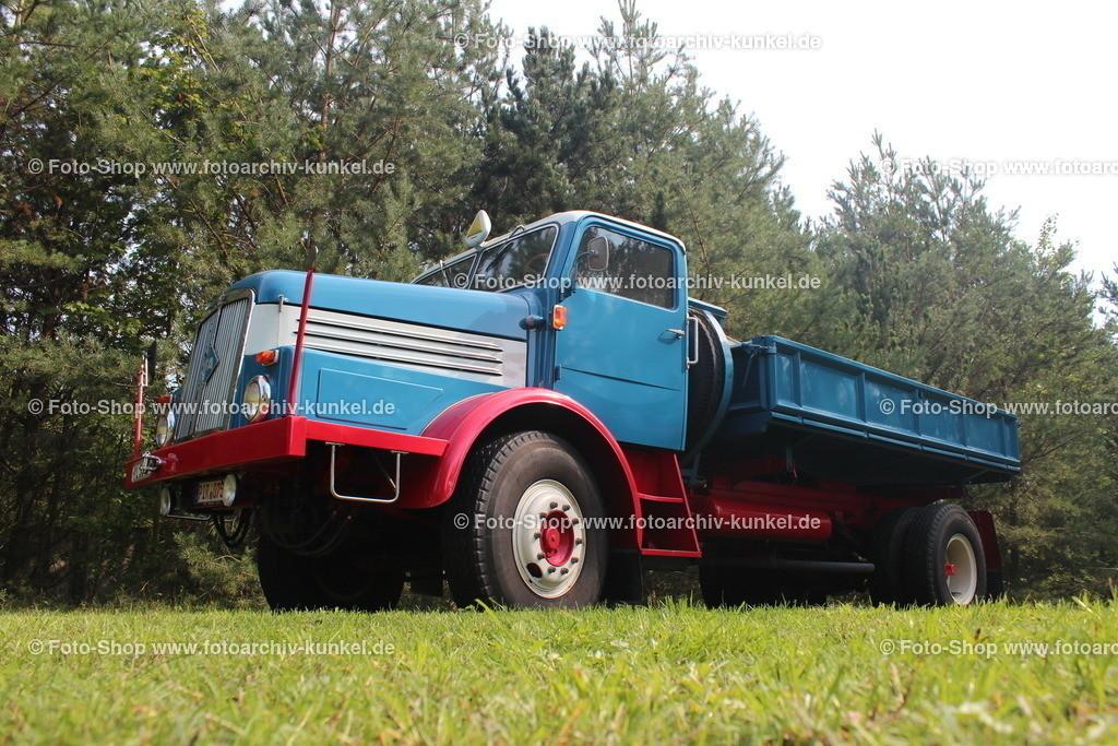 IFA H 6 Dreiseitenkipper 4x2, 1952-1959 | IFA H 6 Dreiseitenkipper, Farbe: Rot/Blau, Hersteller: VEB IFA-Kraftfahrzeugwerk »Ernst Grube« Werdau, DDR