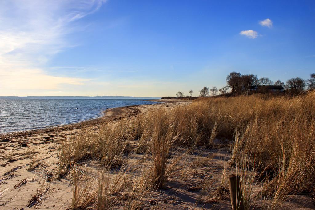 Strand in Karlsminde | Strand in Karlsminde im Winter
