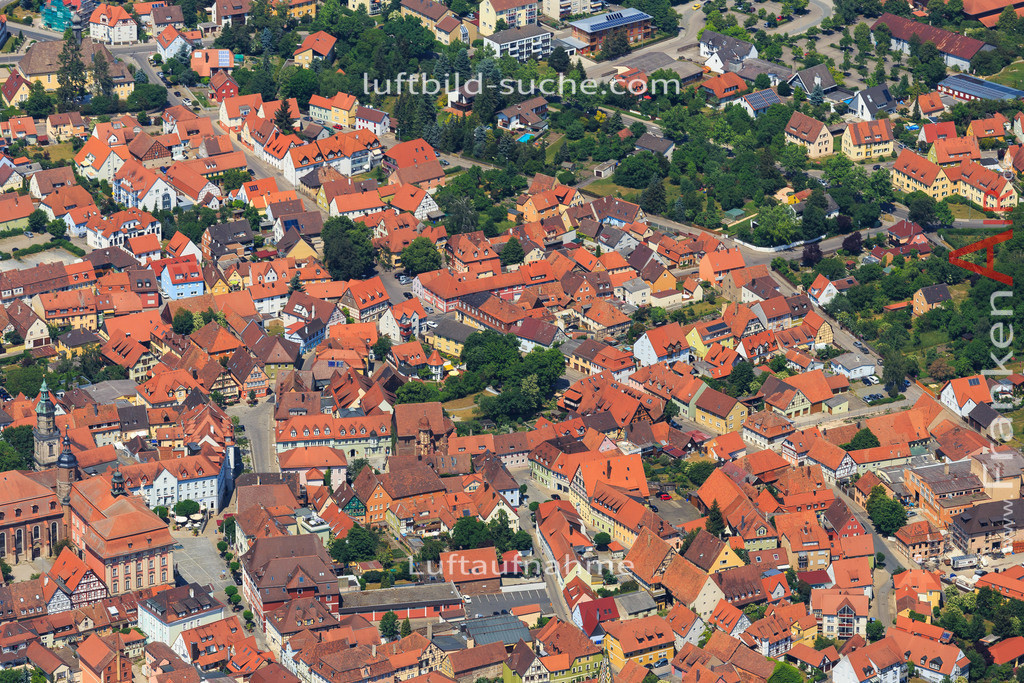 bad-windsheim-2015-1608 | Luftbild von  Bad-windsheim - Luftaufnahme wurde 2015 von https://frankenair.de mittels Flugzeug (keine Drohne) erstellt - die Geschenkidee
