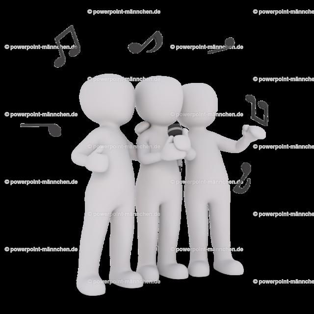 a group of singers sing together | Quelle: https://3dman.eu   Jetzt 250 Bilder kostenlos sichern